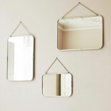 Silver Carriage Mirrors