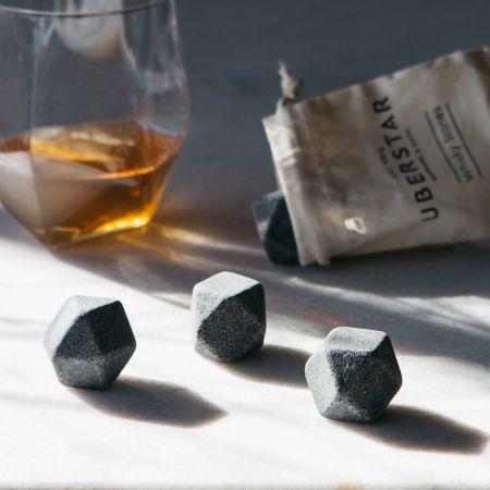 Hex Whisky Stones