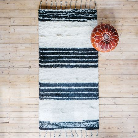 Tora Striped Hand Tufted Rug