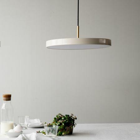 Asteria White Pendant Light