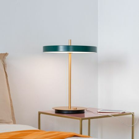 Asteria Green Table Lamp