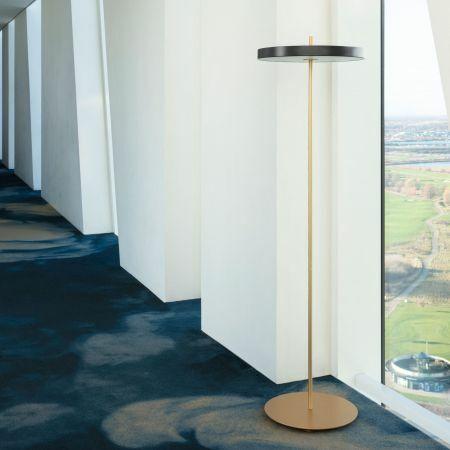 Asteria Grey Floor Lamp