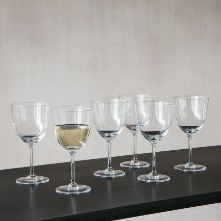 Set of Six Stars Wine Glasses