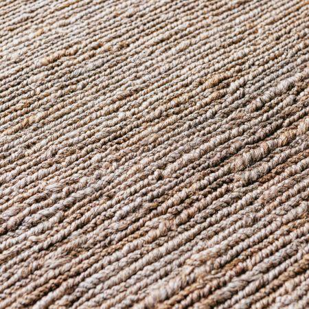 Yaro Large Natural Woven Hemp Rug