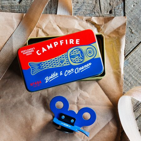 Campfire Bottle and Can Opener