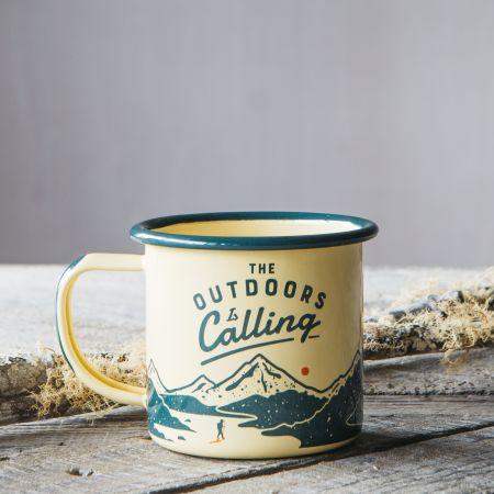 Outdoors Enamel Mug
