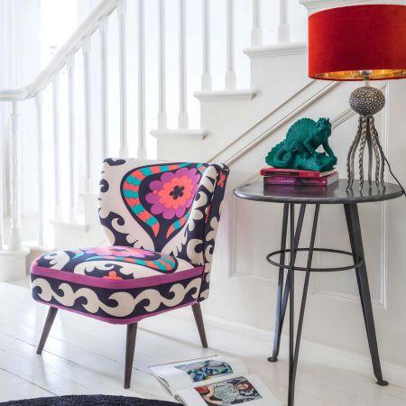 Alpana Suzani Cocktail Chair