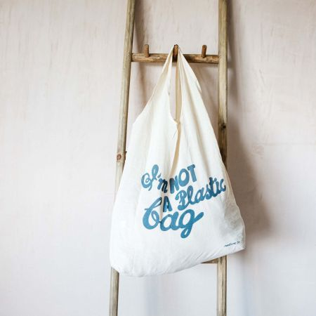 Not a Plastic Bag Cotton Tote