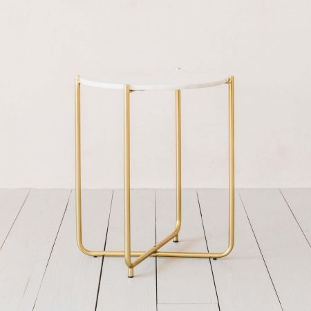 Joss Marble Side Table
