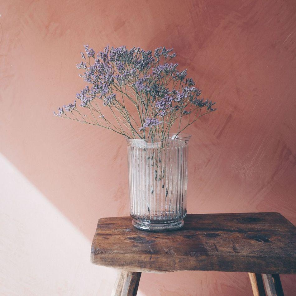 Ribbed Glass Vases Graham Green
