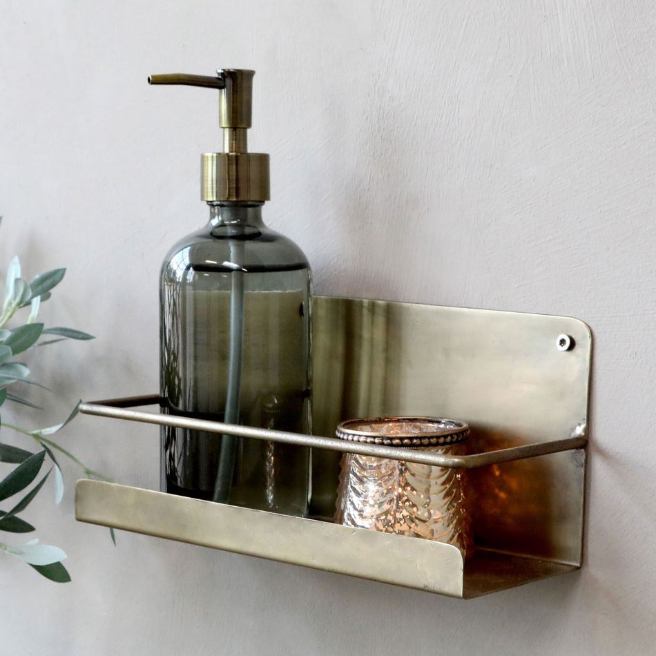 Alvis Bathroom Shelf Graham Green
