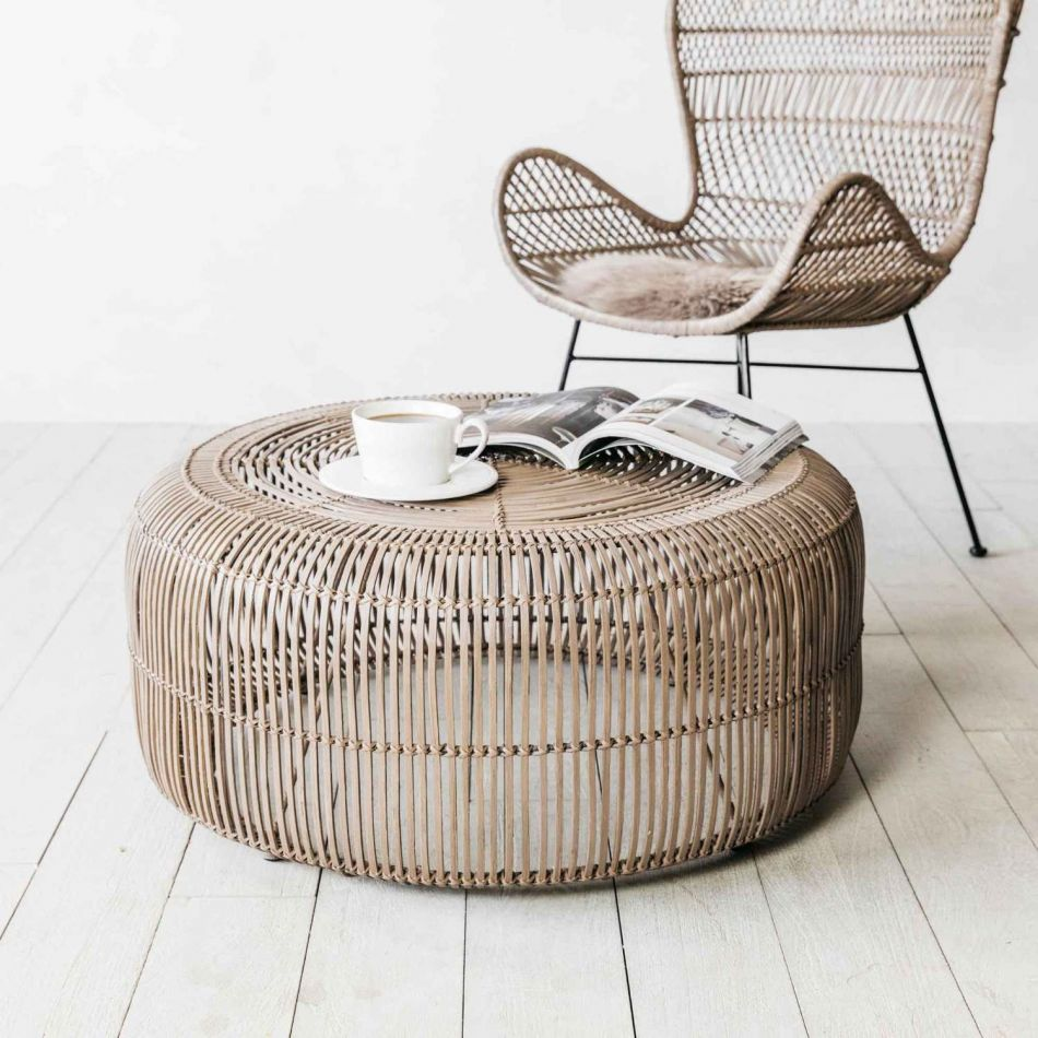 - Oslo Round Clay Coffee Table Graham & Green