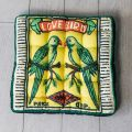 Love Birds Matchbox Seat Pad