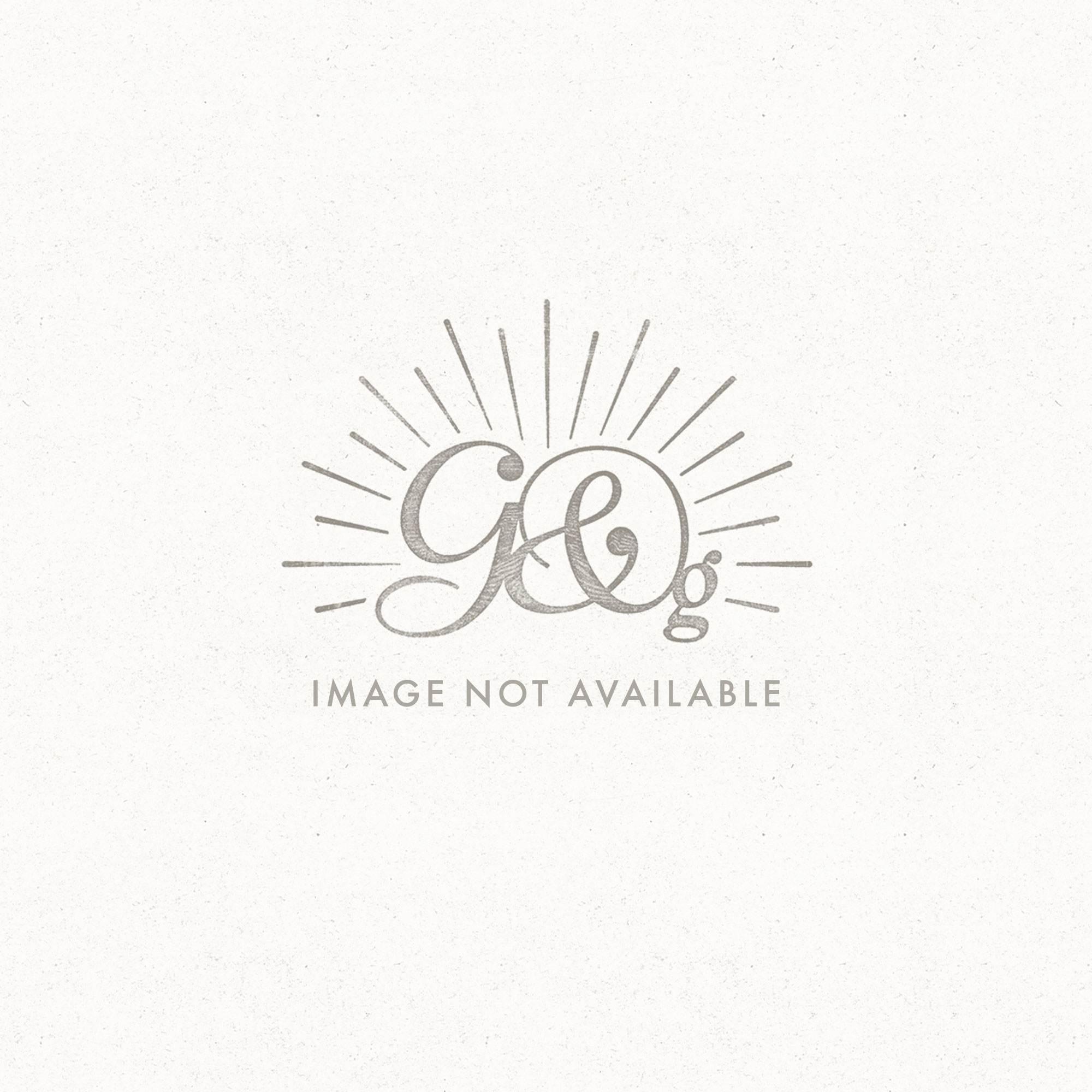 Renée Linen Stripe Ottoman - Thumbnail