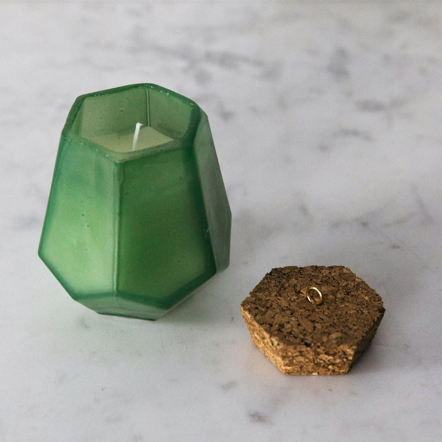 Prism Lucky Clover Candle Graham Green Origami Nut Spring