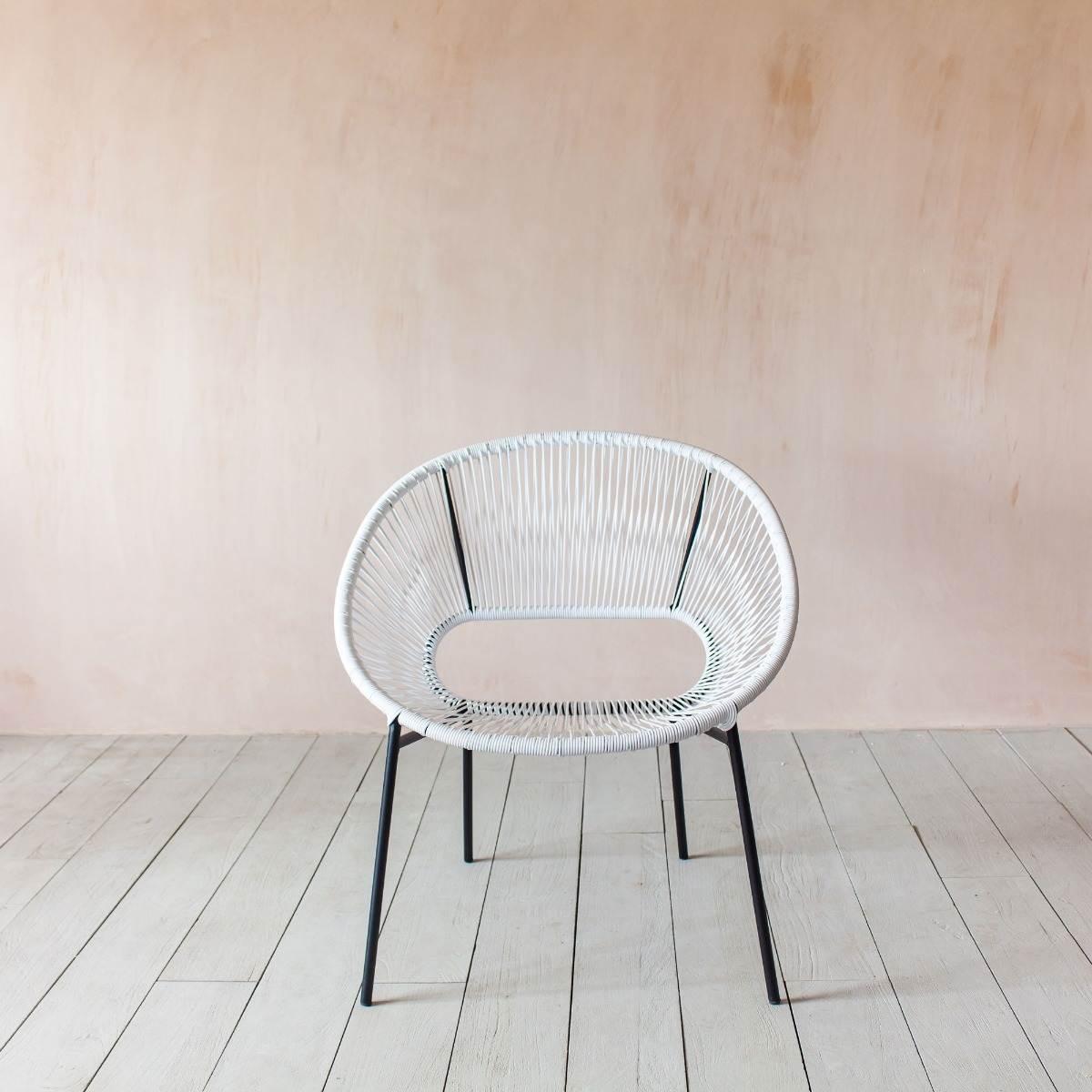 Alana White Chair