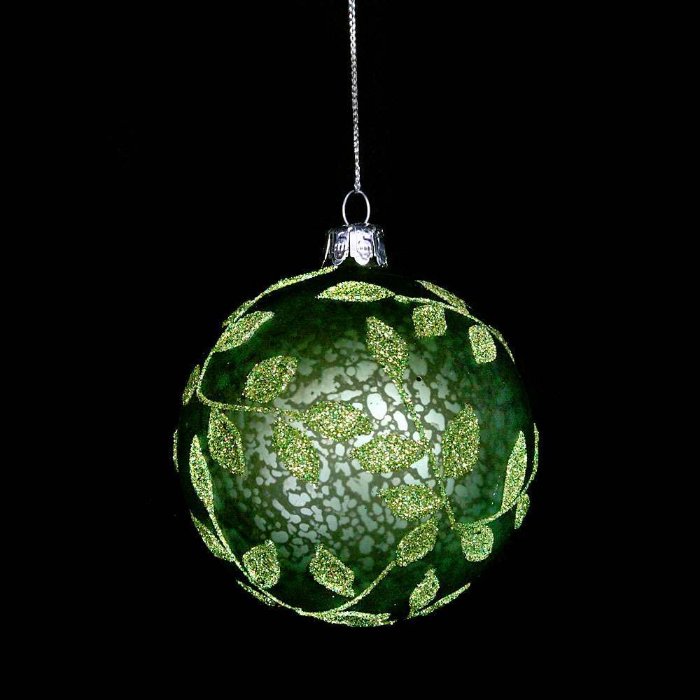 Antique Green Ball Decoration