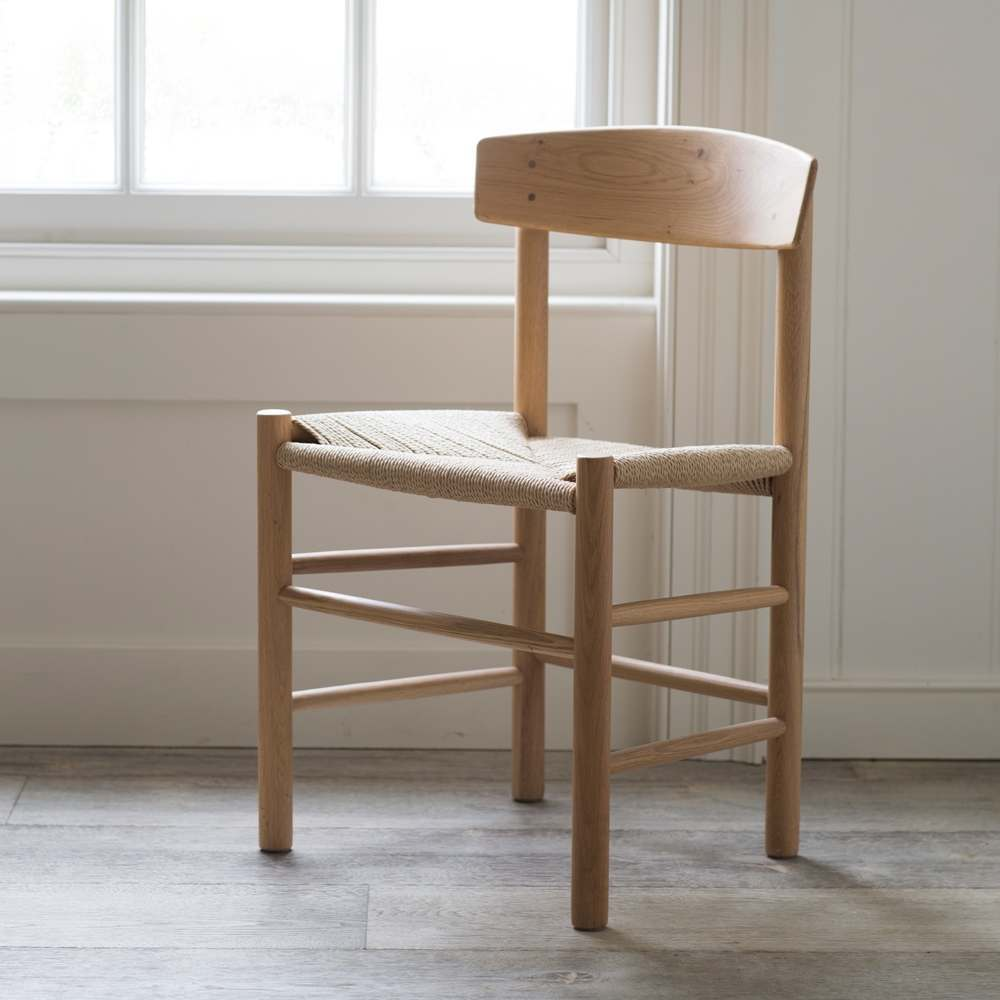 Longworth Oak Chair