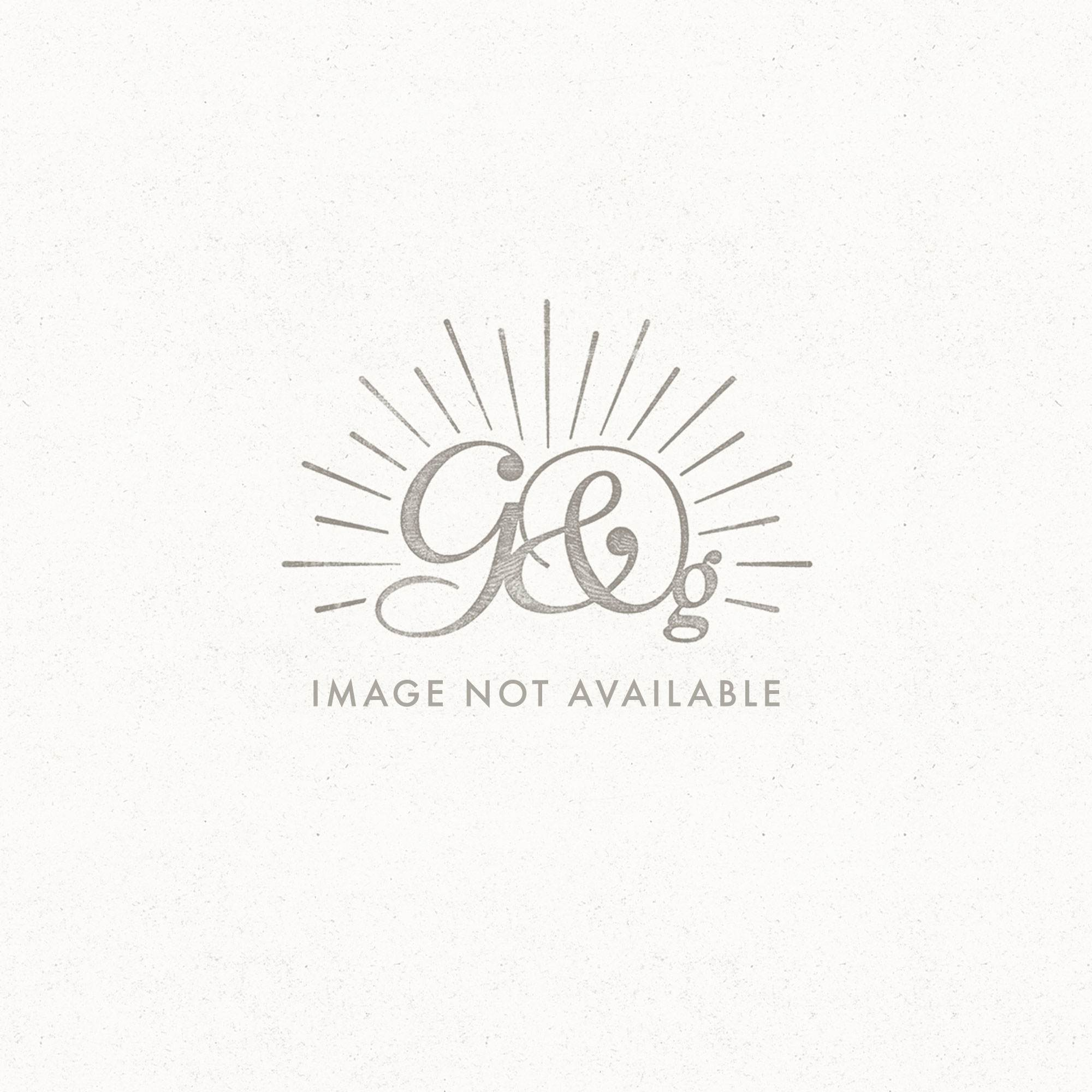 Antique Silver Glass Candlestick