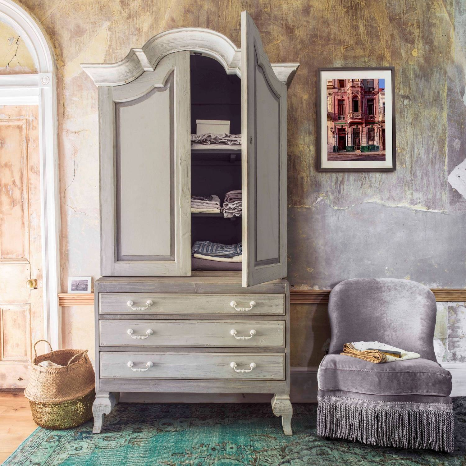 Addie Linen Cupboard