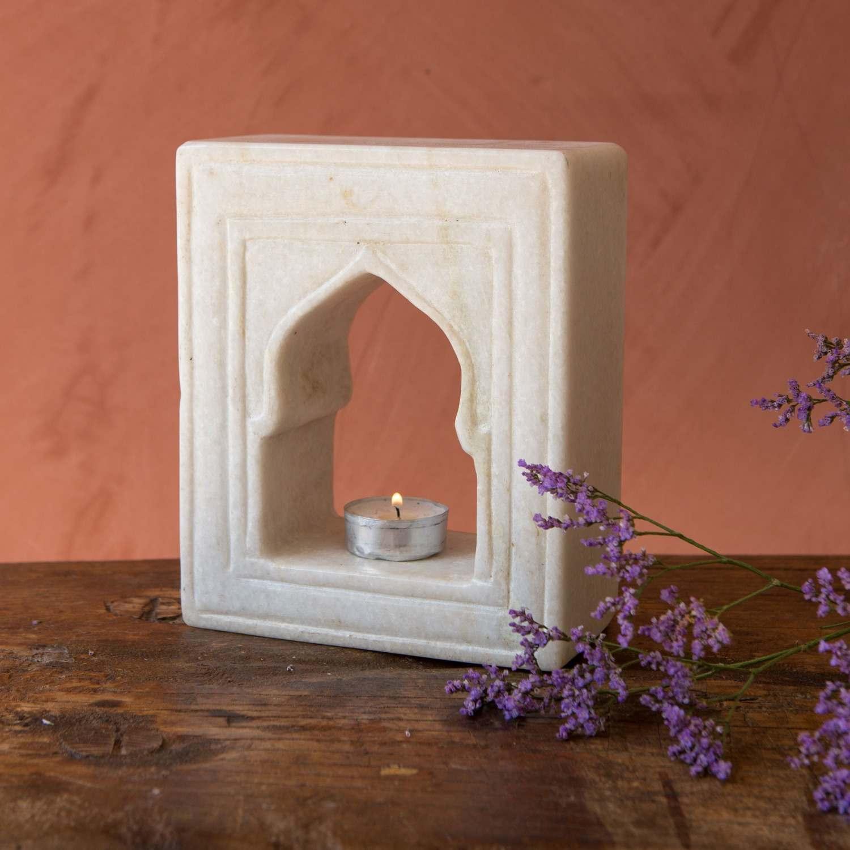 Aala Marble Tea Light Holder