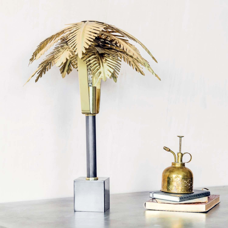 Areca Palm Lamp