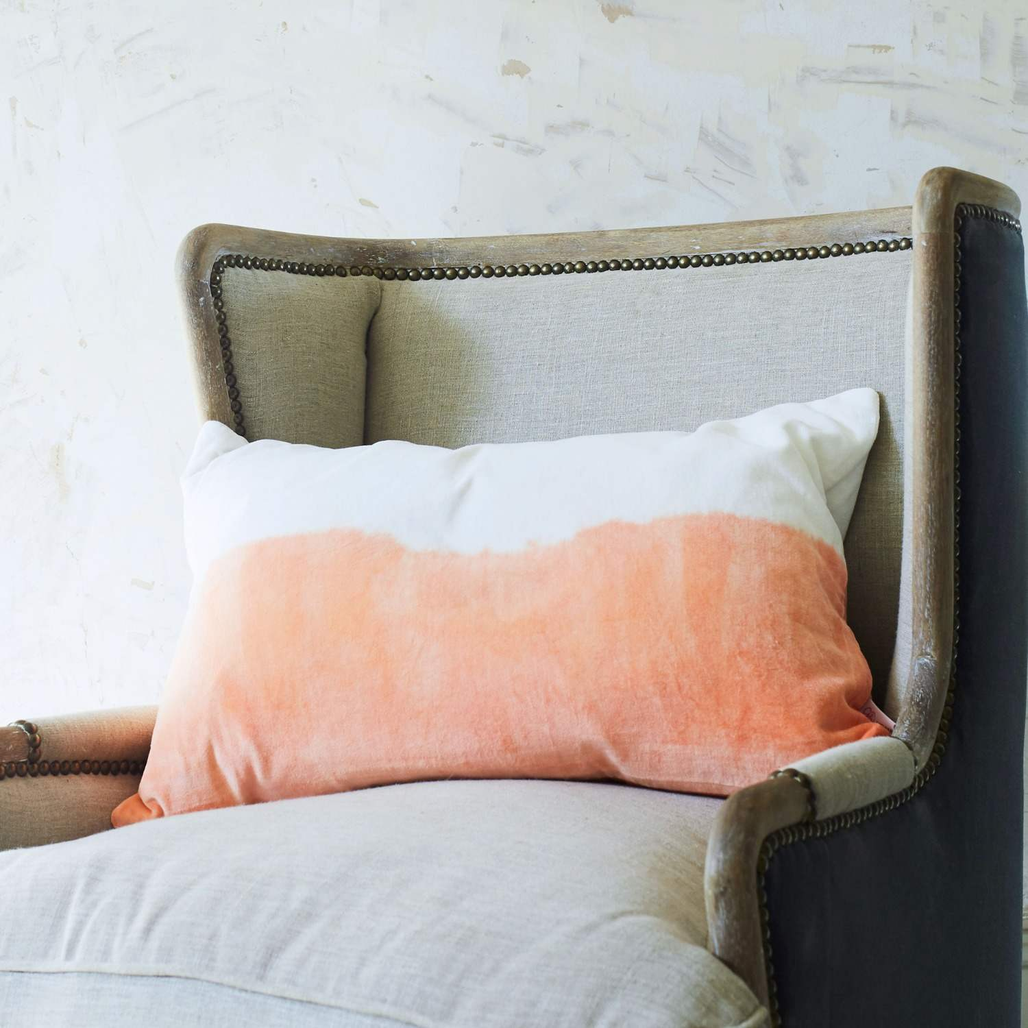 Amalfi Coral Rectangular Cushion