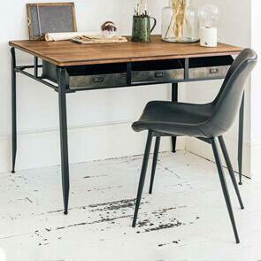 Desk and Dining Chairs