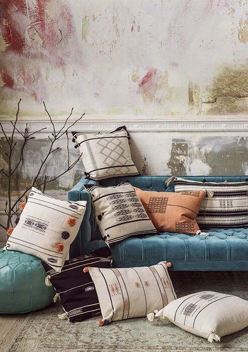 Hand Tufted Cushions