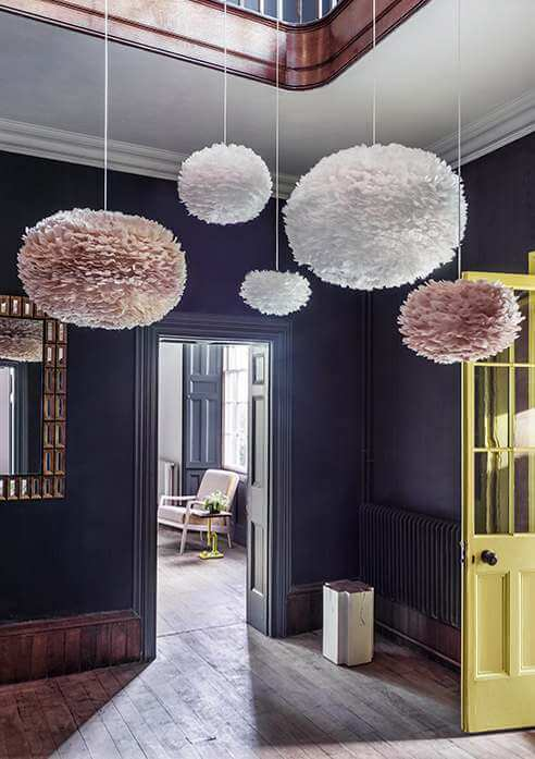 Feather Pendant Shades