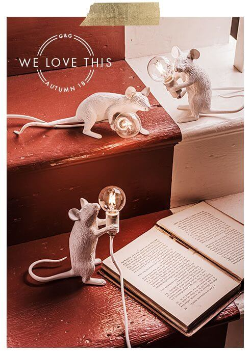 Mouse Lamps