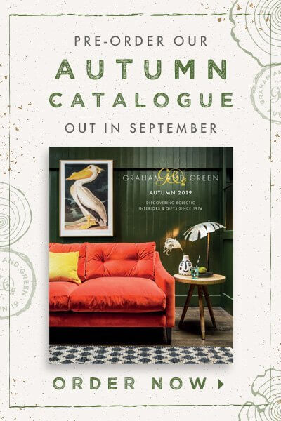 Pre-order the Graham and Green Autumn Catalogue