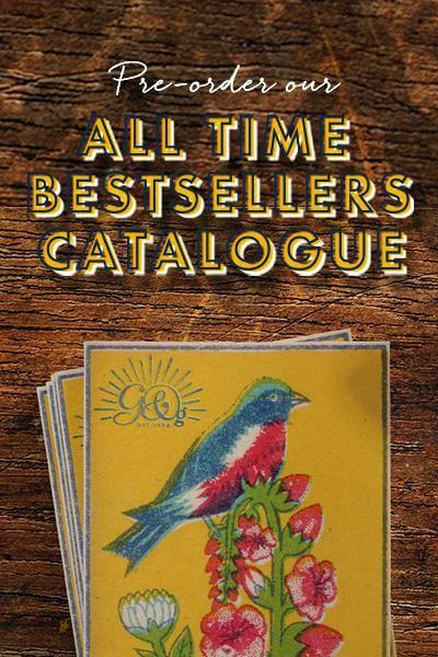 Pre-order our All Time Bestsellers Catalogue