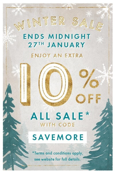 Enjoy An Extra 10 Percent Off Sale Items