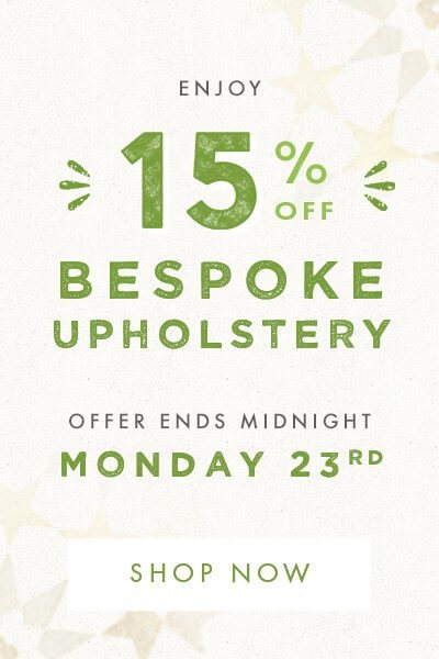 15% off Bespoke Sofas and Seating