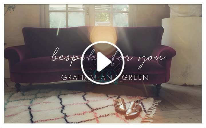BESPOKE UPHOLSTERY FROM GRAHAM & GREEN