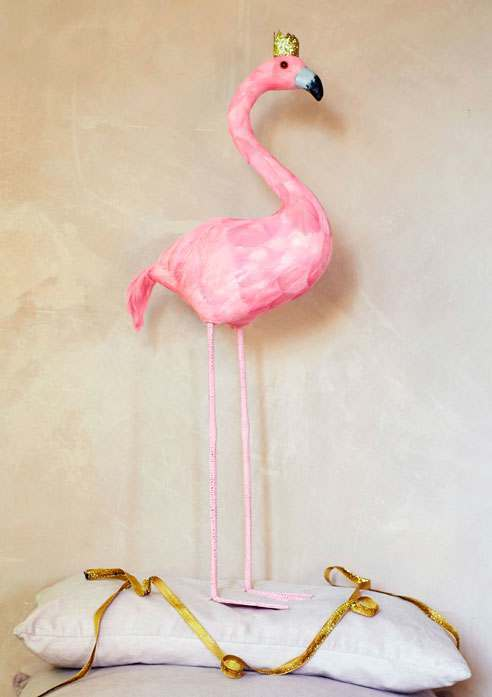 Pink Feather Flamingo