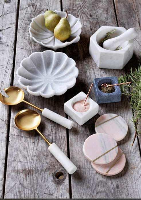 Marble Tableware