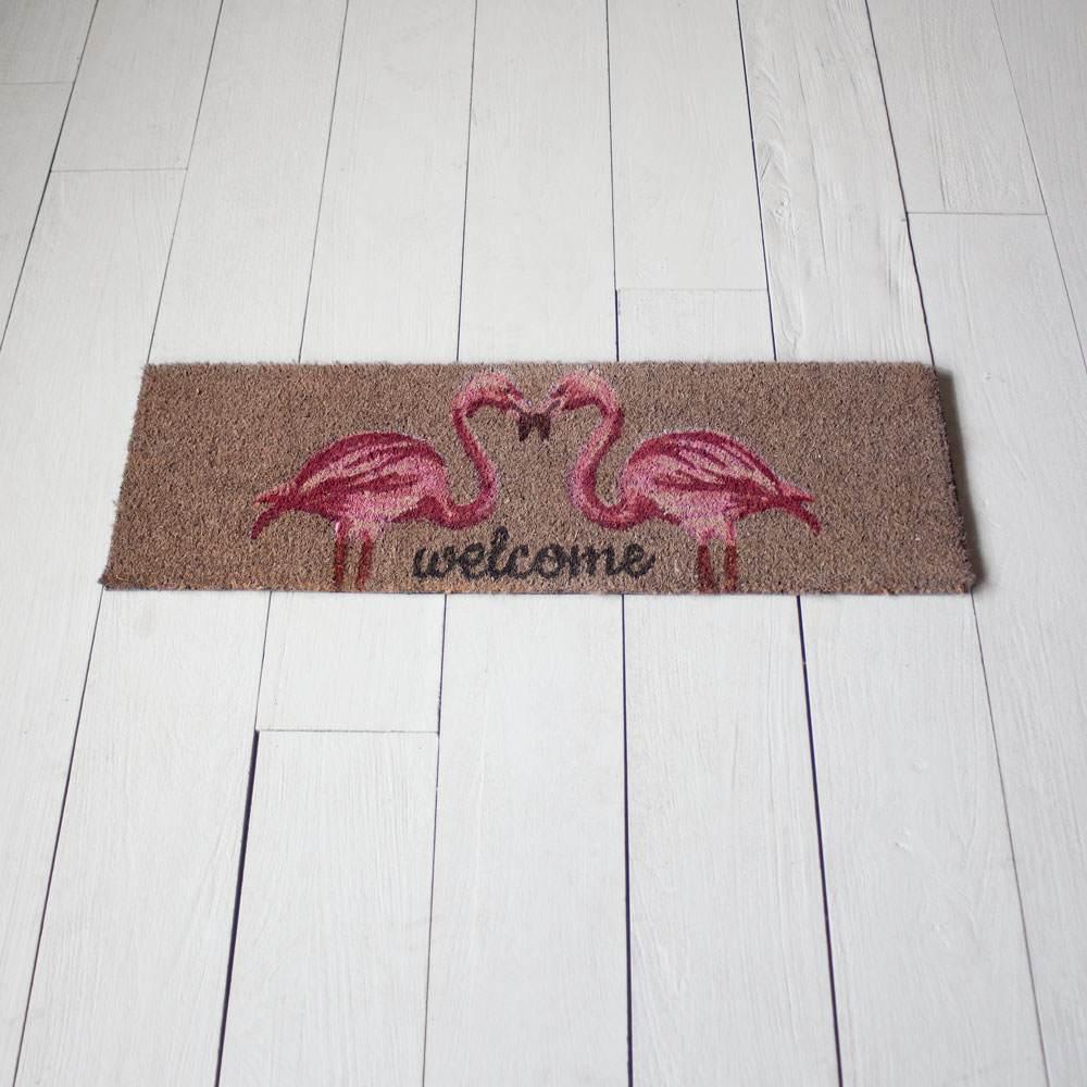 An image of Flamingo Doormat