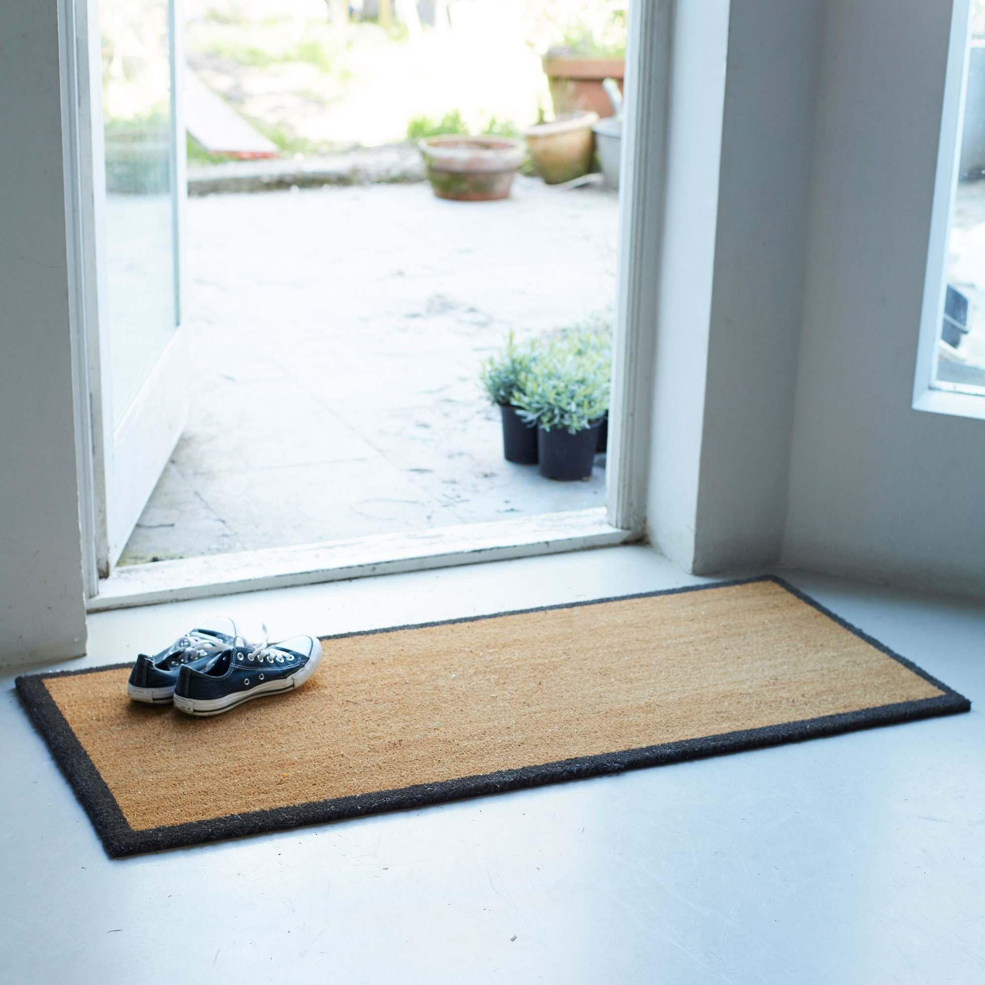 An image of Coir Double Doormat