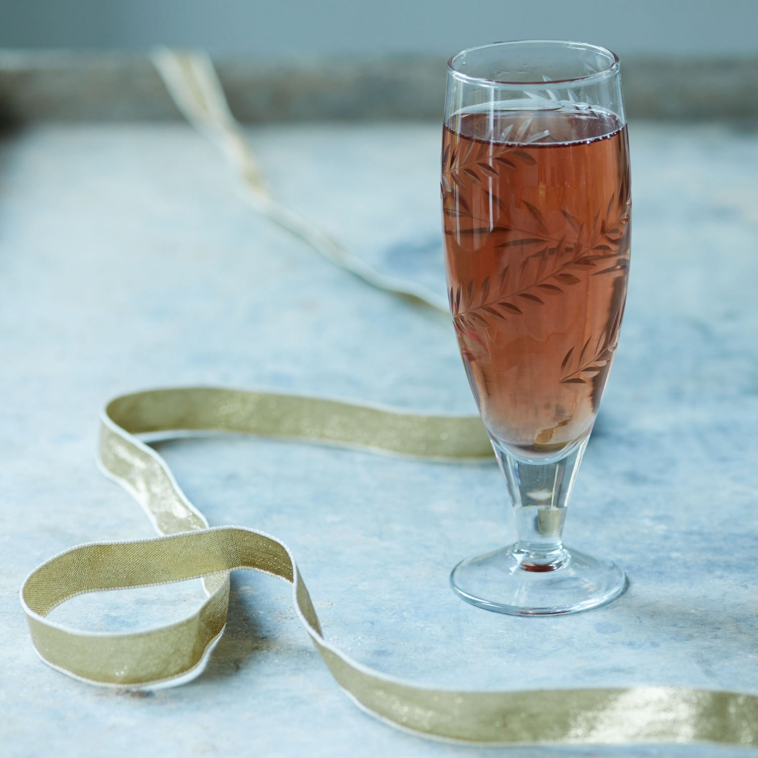 An image of Cut Glass Champagne Glass
