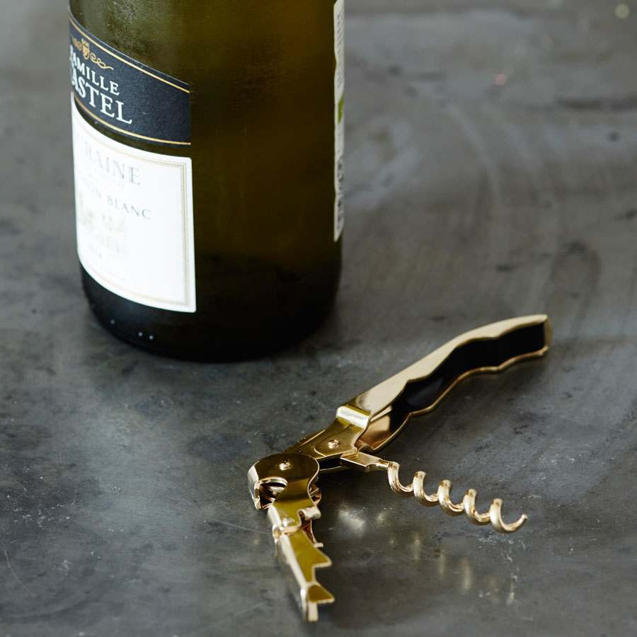 24 Karat Gold Plated Signature Corkscrew